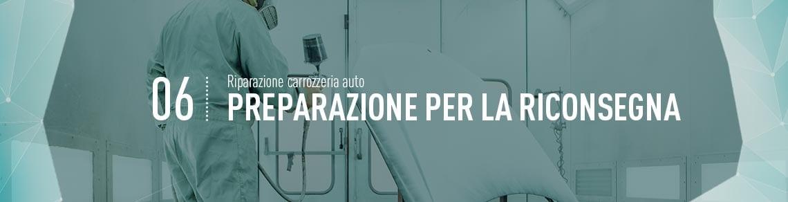 Riparazione Carrozzeria Auto - Carrozzeria Golgi Milano - Preparazione per la riconsegna