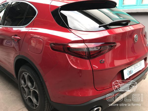 Lucidatura Auto + Trattamento Nanotecnologico - Alfa Romeo Stelvio