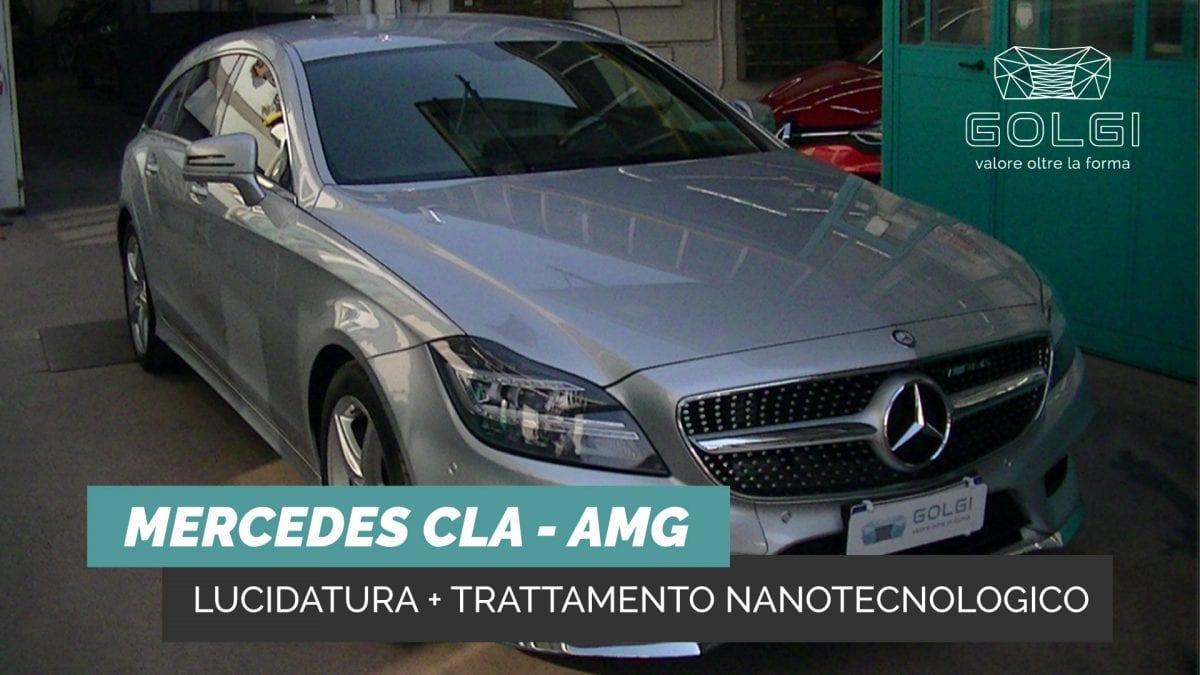 Lucidatura Auto + Trattamento Nanotecnologico - Mercedes CLA AMG