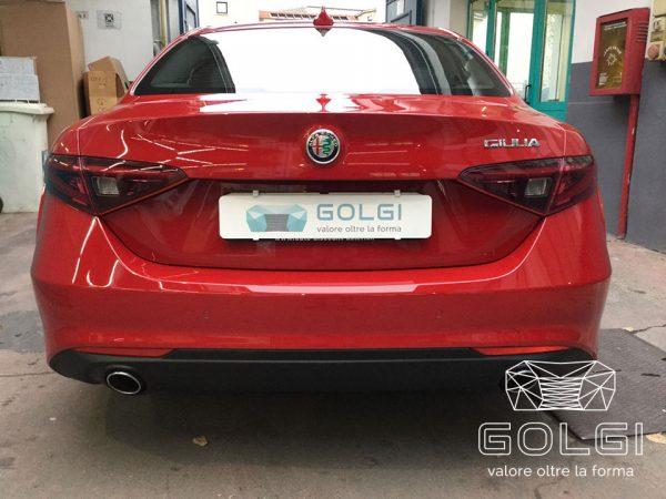 Lucidatura Auto + Trattamento Nanotecnologico - Alfa Romeo Giulia