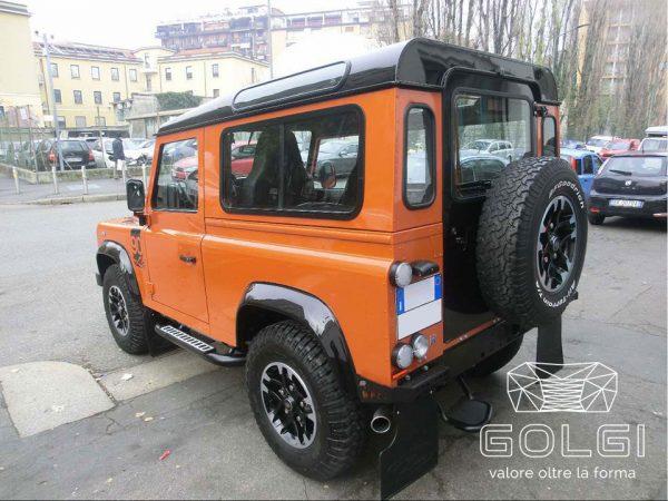 Lucidatura Auto + Trattamento Nanotecnologico - Land Rover Defender