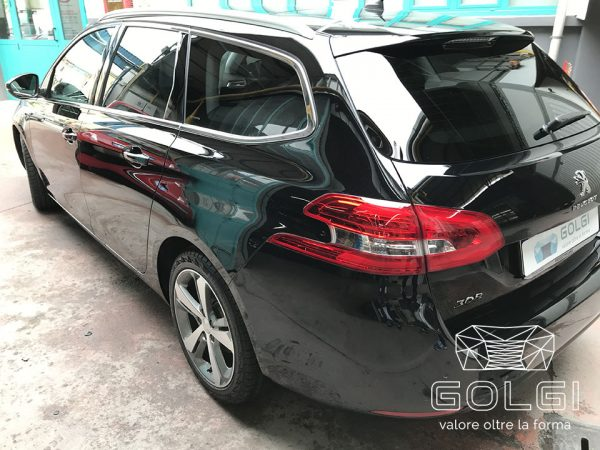 Lucidatura Auto + Trattamento Nanotecnologico - Peugeot 308