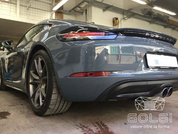 Lucidatura Auto + Trattamento Nanotecnologico - Porsche 718 Cayman