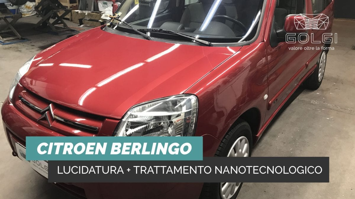 Lucidatura Auto + Trattamento Nanotecnologico - Citroen Berlingo