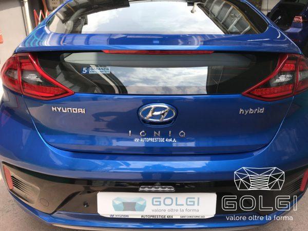 Lucidatura Auto + Trattamento Nanotecnologico - Hyundai Ionic
