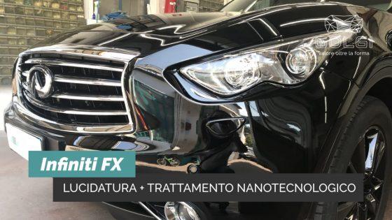 Lucidatura Auto + Trattamento Nanotecnologico - Infinity FX