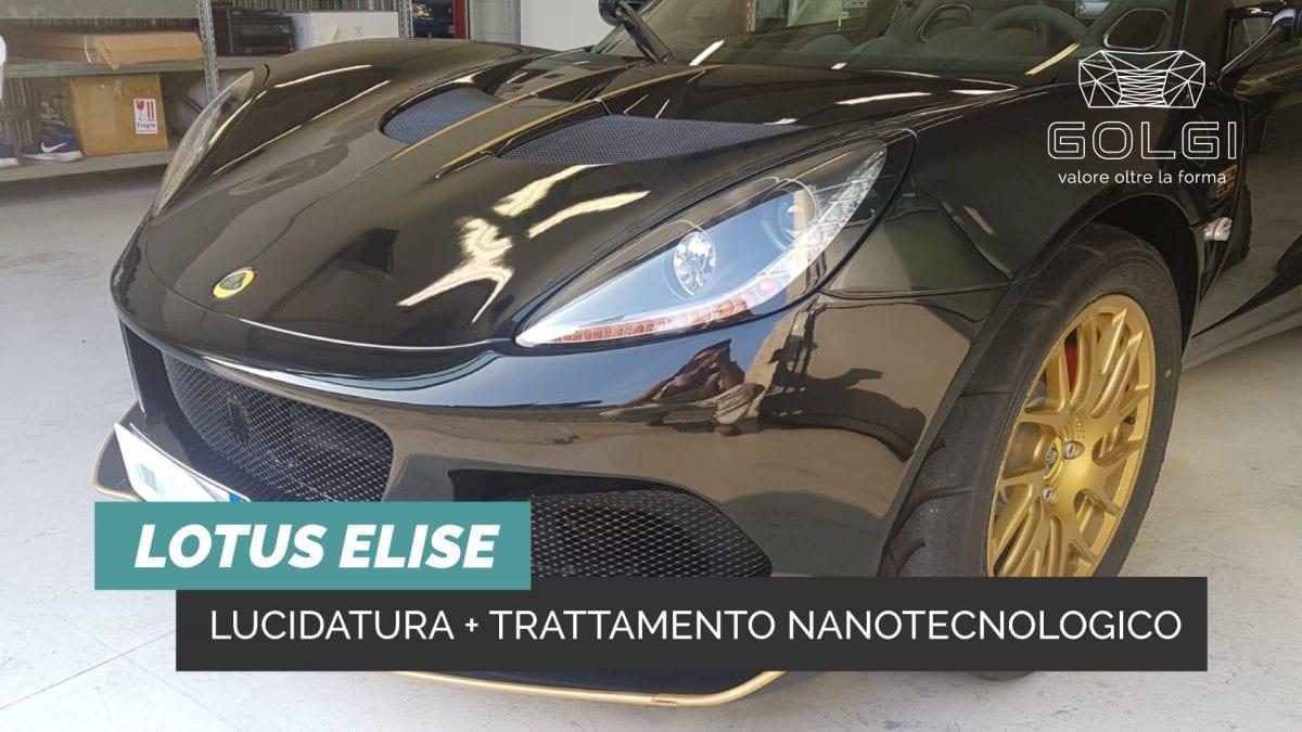 Lucidatura Auto + Trattamento Nanotecnologico - Lotus Elise