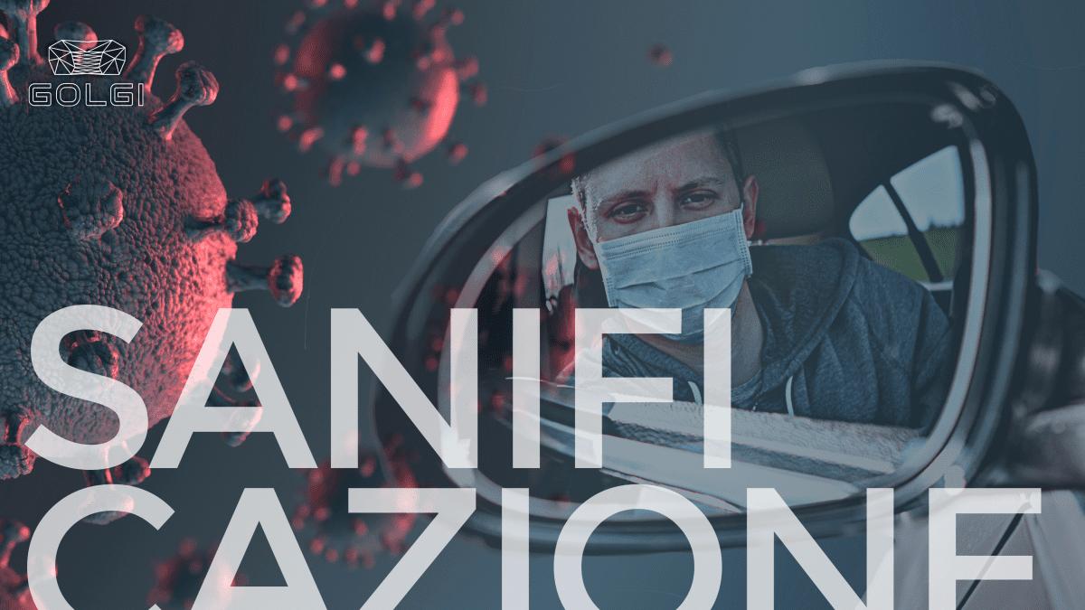 Sanificazione auto