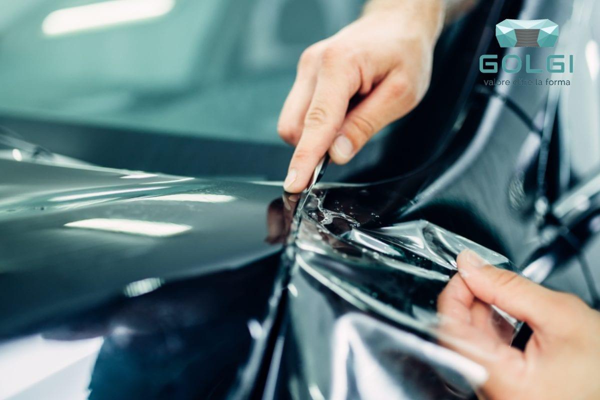 Pellicola per auto taglio pellicola